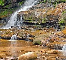 Katoomba Cascades - By the Rockpool by jayneeldred