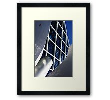 Building architecture and sculpture Framed Print