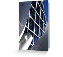 Building architecture and sculpture Greeting Card