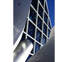 Building architecture and sculpture Photographic Print