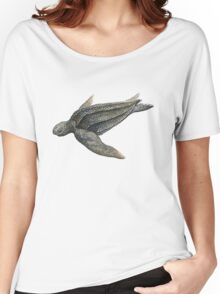 Leatherback Sea Turtle Women's Relaxed Fit T-Shirt