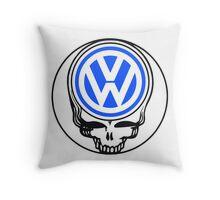 Steal Your Wagen Blue Throw Pillow