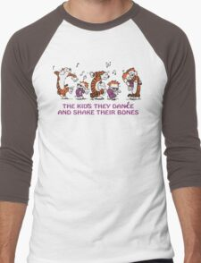 The kids they dance and shake their bones! Men's Baseball ¾ T-Shirt