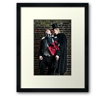 Jane the Ripper II Framed Print