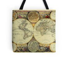 World Map 1675 Tote Bag