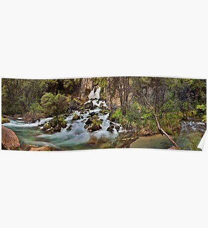 Tarawera Falls Poster