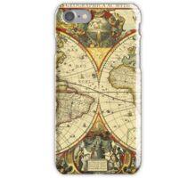 World Map 1641 iPhone Case/Skin
