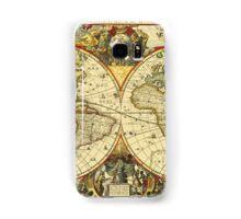 World Map 1641 Samsung Galaxy Case/Skin