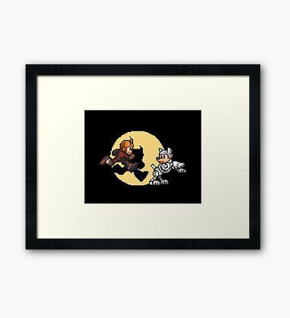 Mega TinTin Man Framed Print