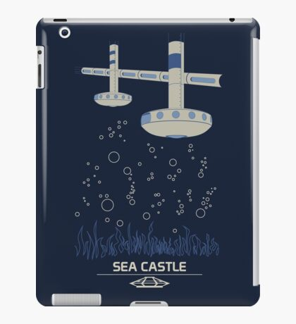 Sea Castle iPad Case/Skin