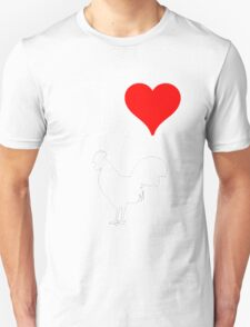 I Heart Cock tee Unisex T-Shirt