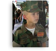 Young Marines Metal Print