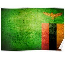 Zambia - Vintage Poster