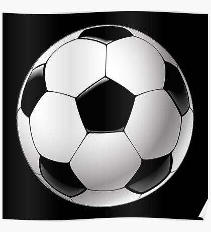 Telstar football ball Poster