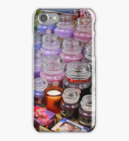 Aromatherapy Unchained - Yankee Candles Shop Display iPhone Case/Skin