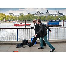 Frozen in Time: Southbank Candid Photographic Print