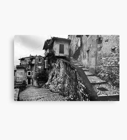 The Back Streets Of Artena Metal Print