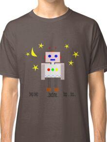 Bedtime robot beep beep Classic T-Shirt