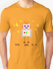 Bedtime robot beep beep Unisex T-Shirt