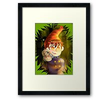 In To The Unknown  Framed Print