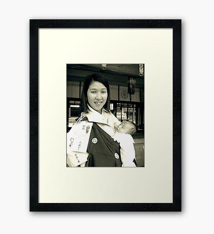 Proud Hitomi-san Framed Print