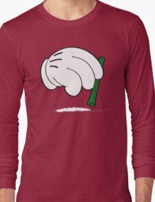 cocaine cartoon hands Long Sleeve T-Shirt