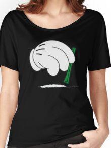cocaine cartoon hands Women's Relaxed Fit T-Shirt