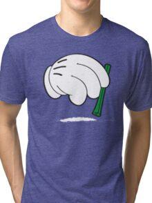 cocaine cartoon hands Tri-blend T-Shirt