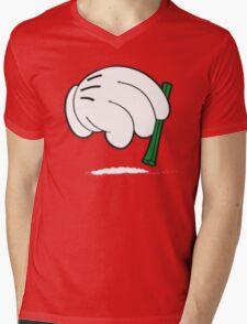 cocaine cartoon hands Mens V-Neck T-Shirt