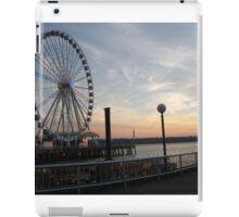 Puget Sound Sunset iPad Case/Skin