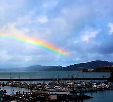 An Unlikely Place for a Rainbow by Carrie Bonham