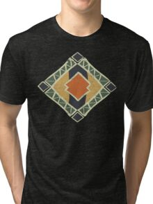 Cool Abstract Enchanting Colors and Shapes Tri-blend T-Shirt