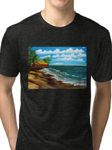 Down By The Shore Tri-blend T-Shirt