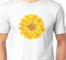 Zinnia in Yellow Unisex T-Shirt