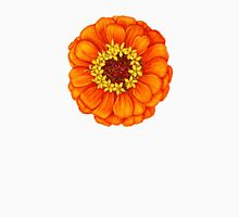 Zinnia in Orange Unisex T-Shirt