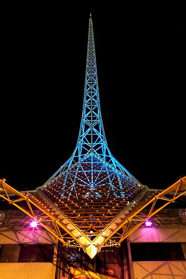 Arts Centre Spire by Travis Easton