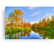 The Calm of Early Fall Canvas Print