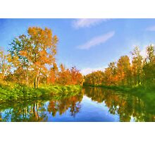 The Calm of Early Fall Photographic Print
