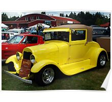 1928 Ford Model A Poster