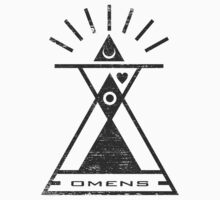 Omens - Typography and Geometry One Piece - Long Sleeve