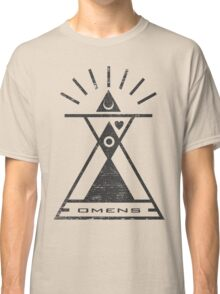 Omens - Typography and Geometry Classic T-Shirt