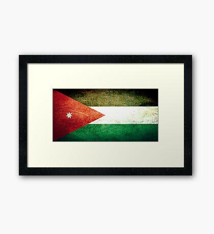 Jordan - Vintage Framed Print