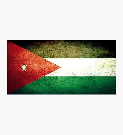Jordan - Vintage Photographic Print