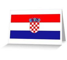 Croatia - Standard Greeting Card