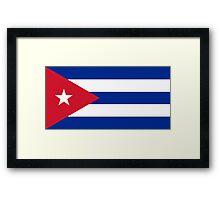 Cuba - Standard Framed Print