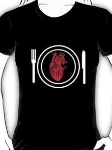 my heart on a plate T-Shirt