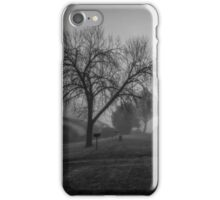 Winter Mornings in Black and White iPhone Case/Skin