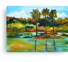Other Side of Diamond Head Canvas Print