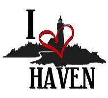 I Love Haven Black Logo by HavenDesign