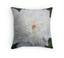 Flower Blooming Throw Pillow